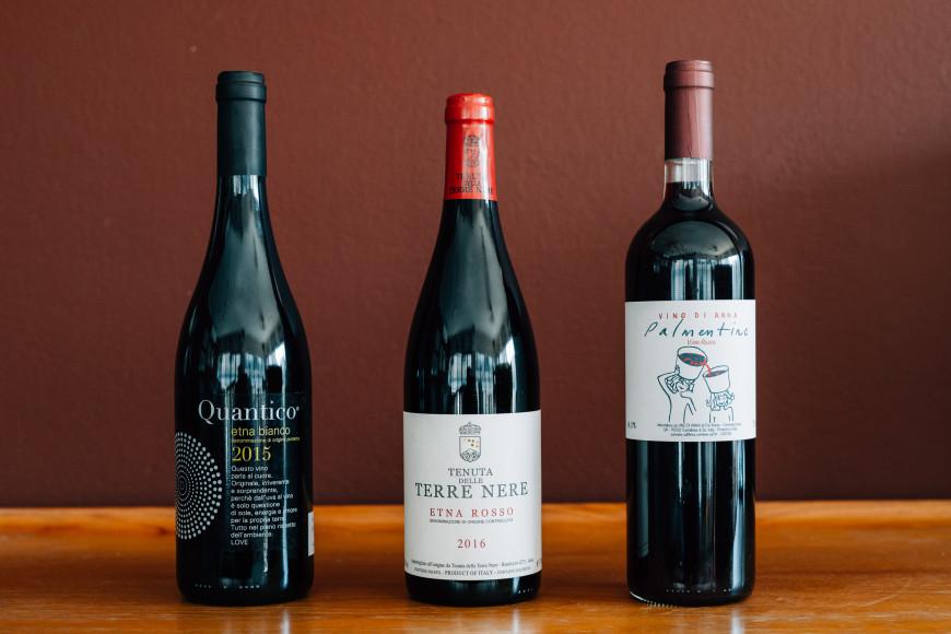 Τρία κρασιά από την περιοχή της Αίτνας που αξίζει να αναζητήσετε