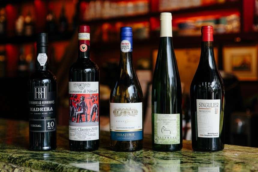 5 υπέροχα κρασιά του κόσμου