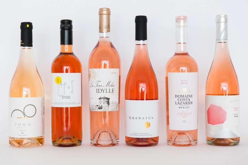 5 premium ελληνικά ροζέ κρασιά (και μία ευχάριστη έκπληξη)