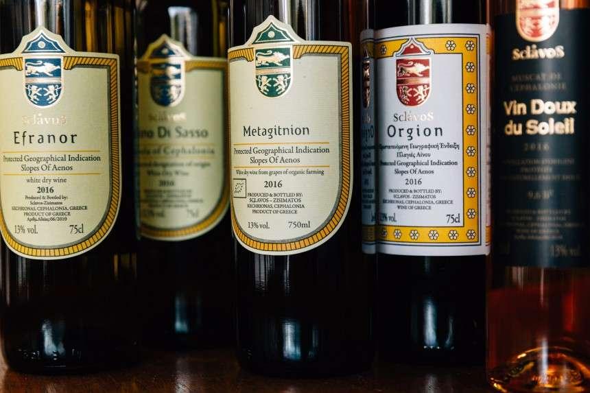 Τα κρασιά του Σκλάβου από την Κεφαλονιά μπορούν να απογειώσουν ένα γεύμα