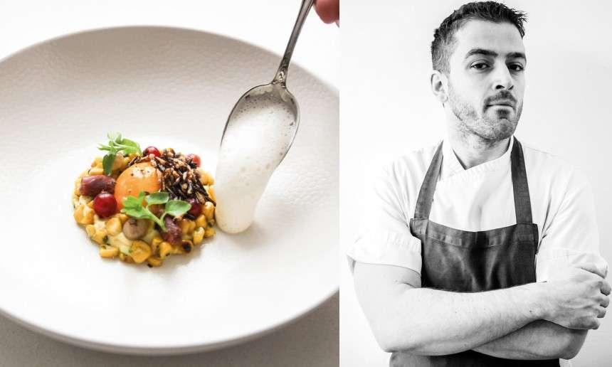 O σεφ του παριζιάνικου Mumi, Angelo Vagiotis, ρωτάει ακόμα και τον λαντζέρη του για κάθε πιάτο που στήνει